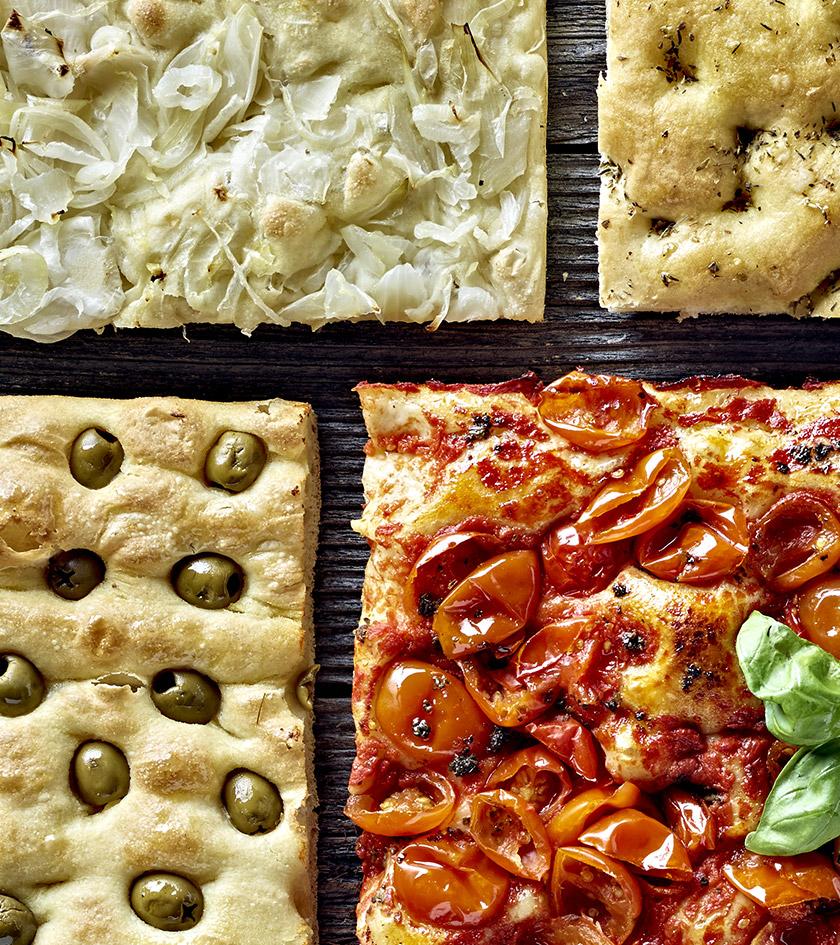 Pizze, focacce e salati